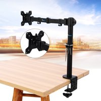 Anauto Single Arm Monitor Desk Table Mount Stand/For 1 LCD Fully Swivel Clamp Up to 27""