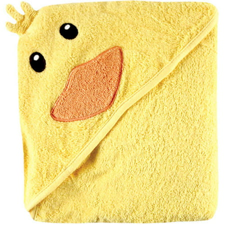 Luvable Friends Cotton Terry Animal Hooded Towel,
