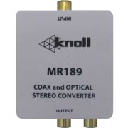 Knoll Systems MR189 Coaxial/Optical to Stereo Line-Level Adapter