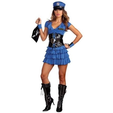 Dreamgirl Late Night Patrol Costume 7669 - Museum Lates Halloween