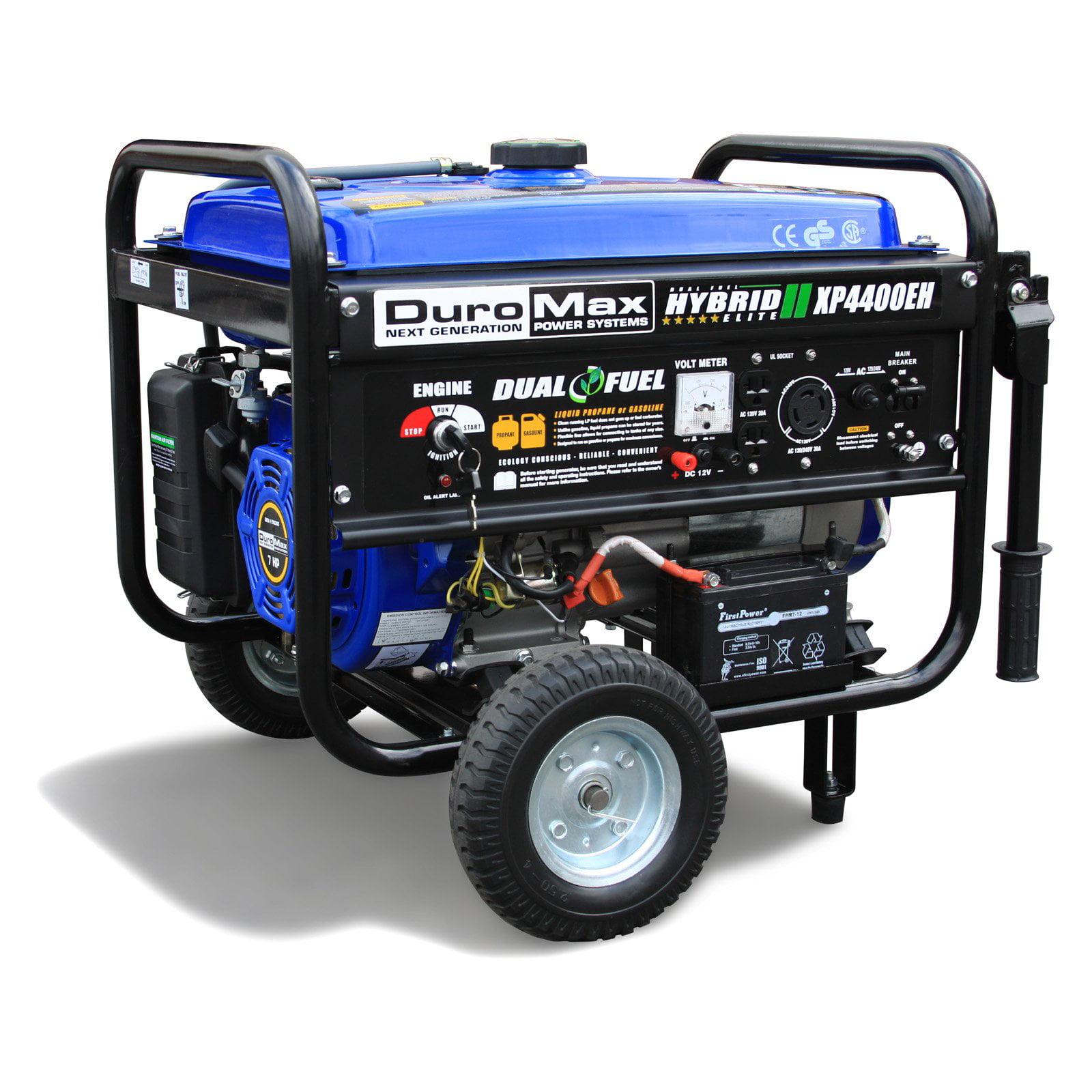 DuroMax Dual Fuel 4,400W Hybrid Propane/Gasoline Generator