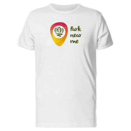 Park Near Me Logo Tee Men's -Image by Shutterstock](Helium Near Me)