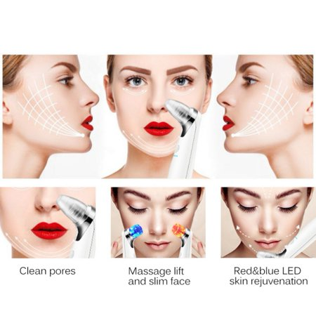 Yosoo Electric Blackhead Suction Removal LED Light Acne Pore Cleaner Skin Care Device - image 3 of 7