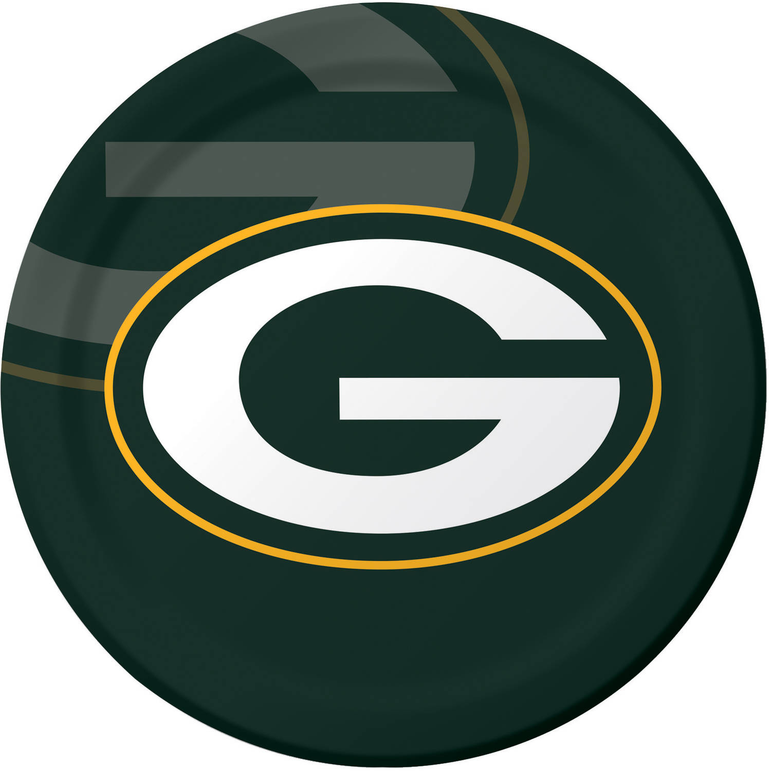 Green Bay Packers Plates, 8-Pack