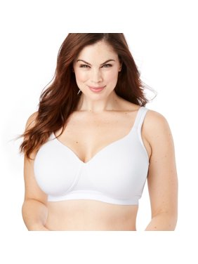 d57e449d5 Product Image Comfort Choice Plus Size Bottom Band Cotton Wireless T-shirt  Bra