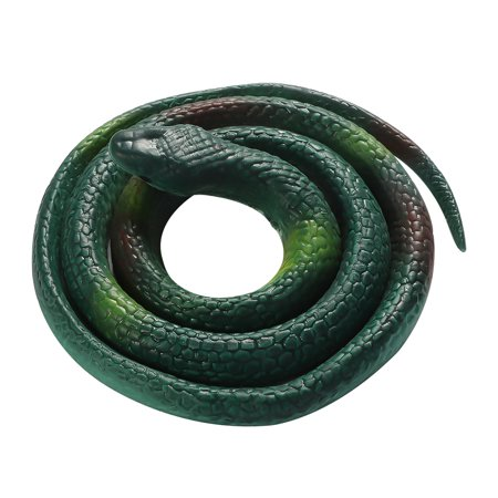 KABOER 1Pc 84Cm Rubber High Simulation Toy Snake Model Funny Scary Snake Kids  Toys Prank Funny Toys Halloween Decoration