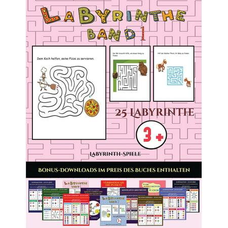 labyrinth spiele labyrinth spiele labyrinthe band 1 25 vollfarbig bedruckbare labyrinth. Black Bedroom Furniture Sets. Home Design Ideas