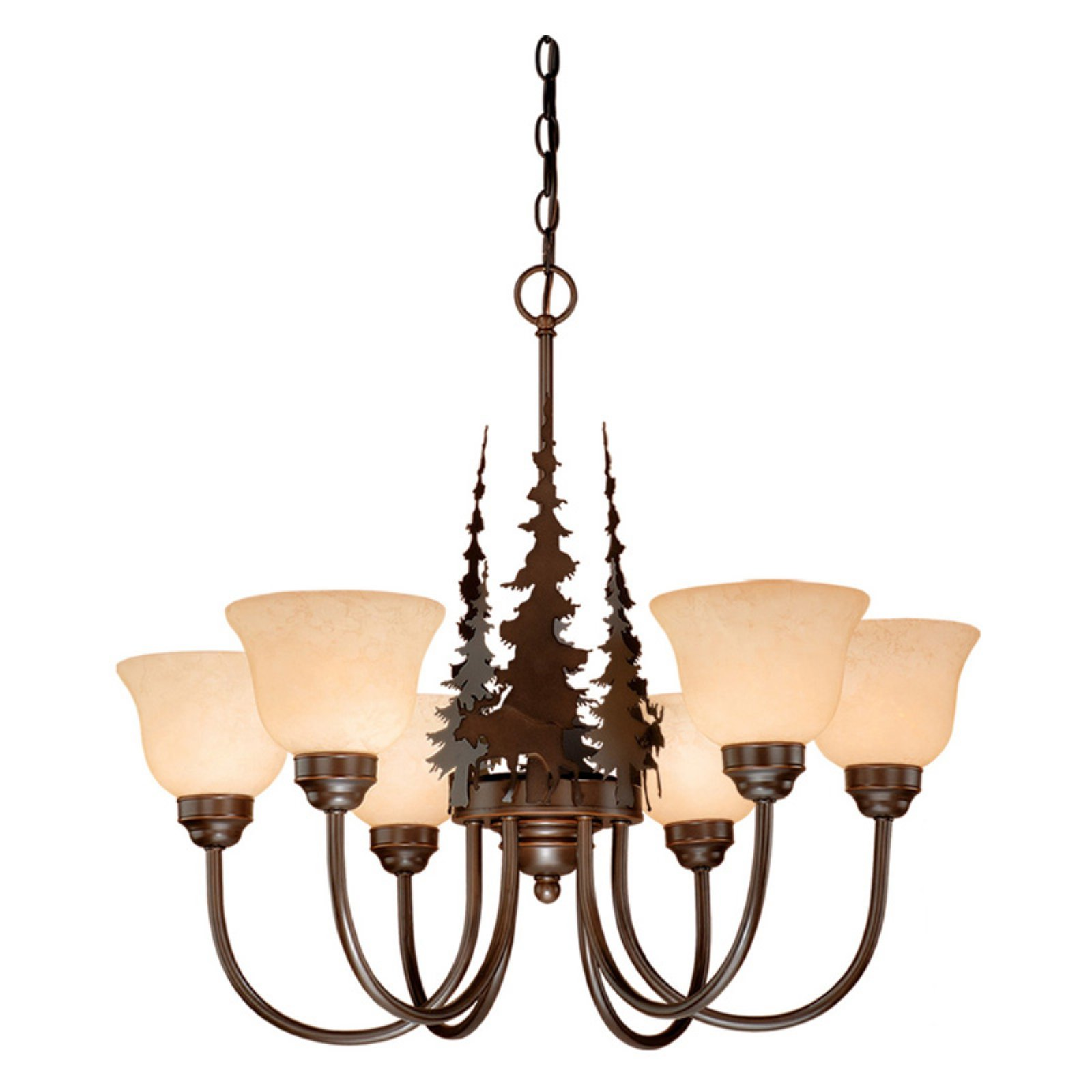 Vaxcel Yellowstone CH55656BBZ Chandelier