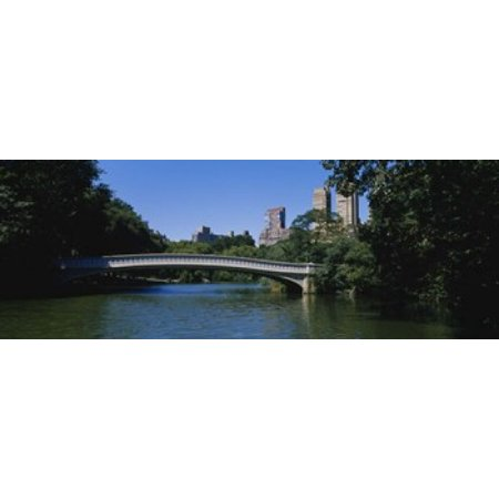 Bridge Over A Lake Bow Bridge Manhattan NYC New York City New York State USA Canvas Art - Panoramic Images (18 x 7)](Halloween Nyc 18 And Over)