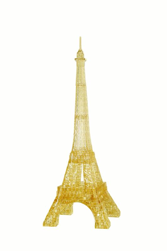 Deluxe 3D Crystal Puzzle Eiffel Tower by University Games