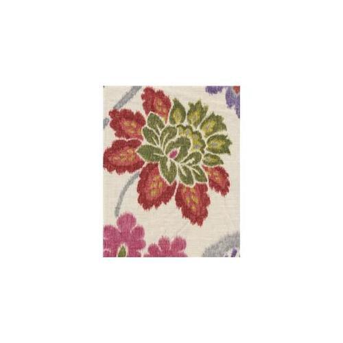 Braemore KAZRUB10 Kazoo Ruby 55% Linen And 45% Rayon Fabric, 54 inch Width, 10 yds long