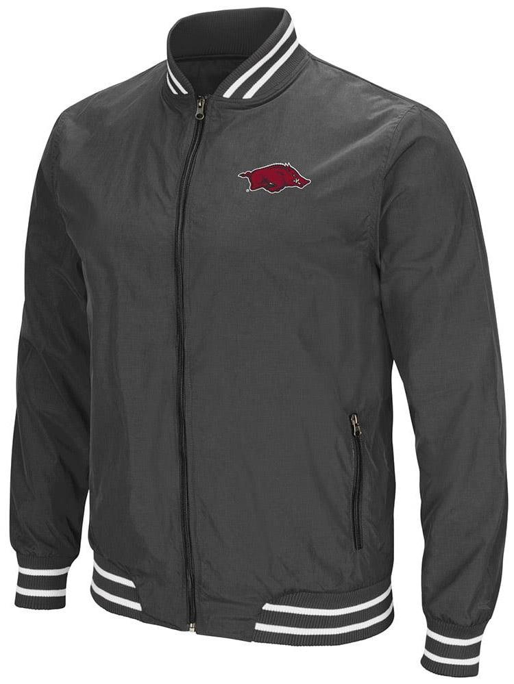 Mens Arkansas Razorbacks Full Zip Jacket by Colosseum