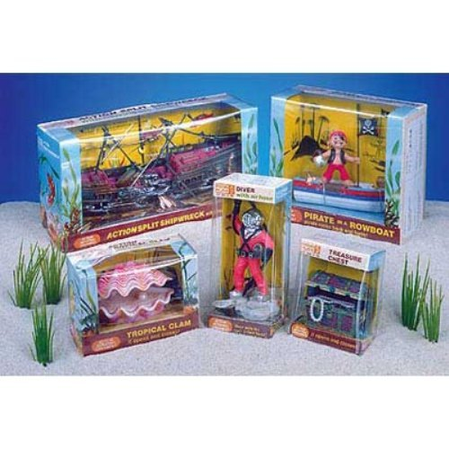 Penn Plax Action Aerating Aquarium Decorations