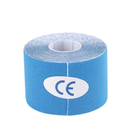 1 Roll 5Cm X 5M Kinesiology Sports Elastic Tape Muscle Pain Care Therapeutic Light Blue