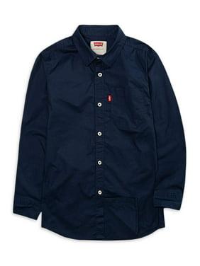 Levi's Boys 8-20 Denim Barstow Western Button Down Shirt