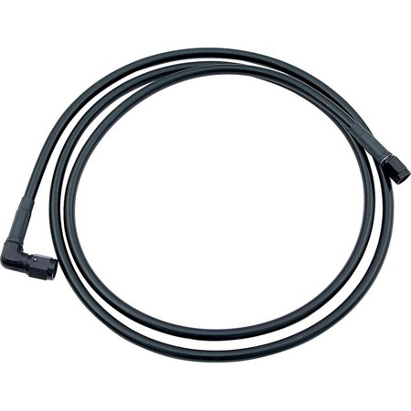 Allstar Performance 4 An Black Brake Hose 36 In Braided Stainless P N 48407