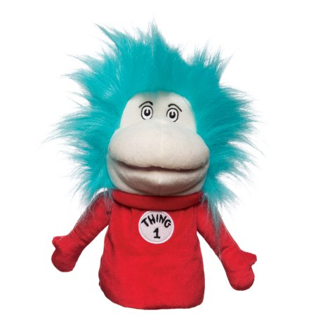 Dr. Seuss Thing 1 & Thing 2 Hand Puppet - Thing One Thing Two