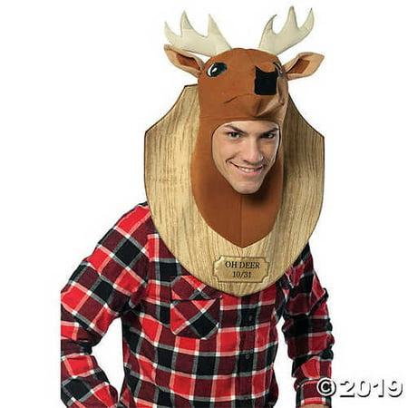 Trophy Wife Halloween Costumes (Adult Oh Deer Trophy Costume)
