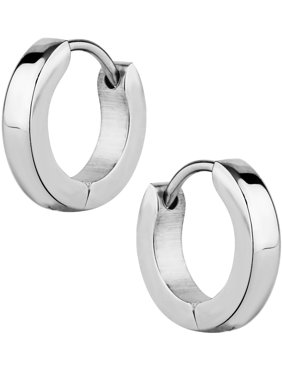 Product Image Stainless Steel Small 3 8 Inch Huggie Hoop Earrings For Men