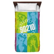 Beverly Hills 90210 Color Blocks Twin Duvet Cover White 68X88