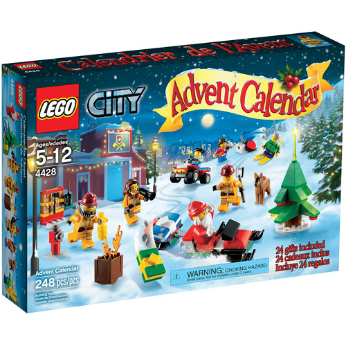 LEGO City Town City Advent Calendar Play Set