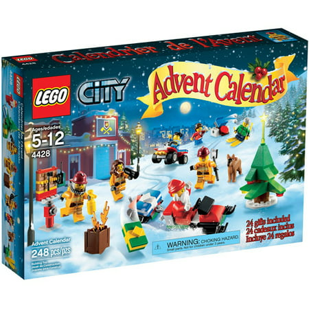 LEGO City Town City Advent Calendar Play Set