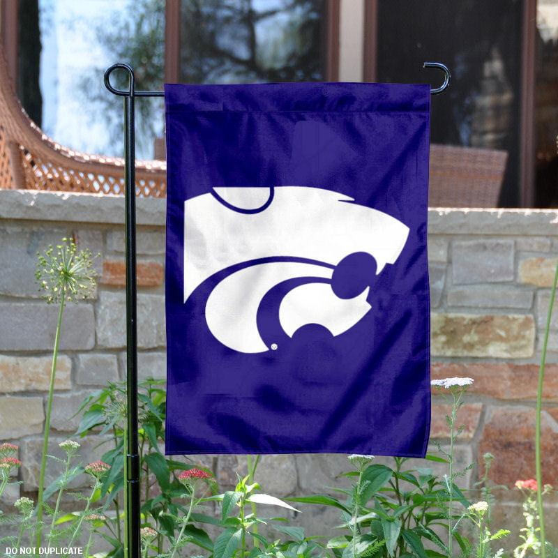 """Kansas State Wildcats 13"""" x 18"""" College Garden Flag"""