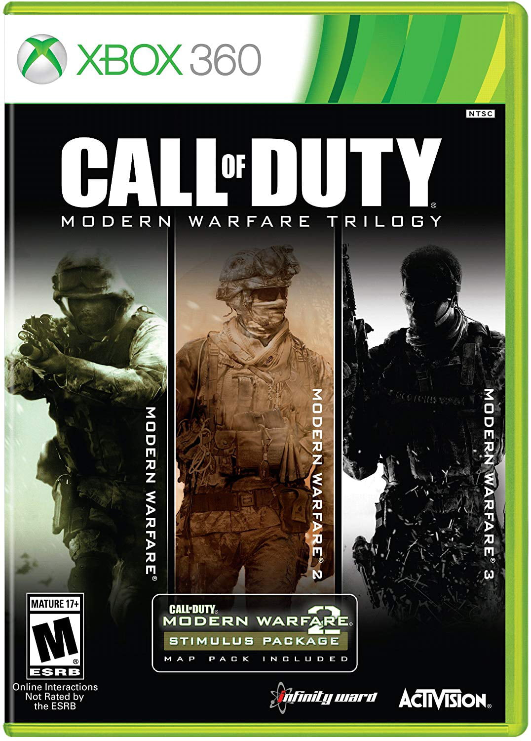 Call Of Duty Modern Warfare Trilogy 3 Discs Activision Xbox