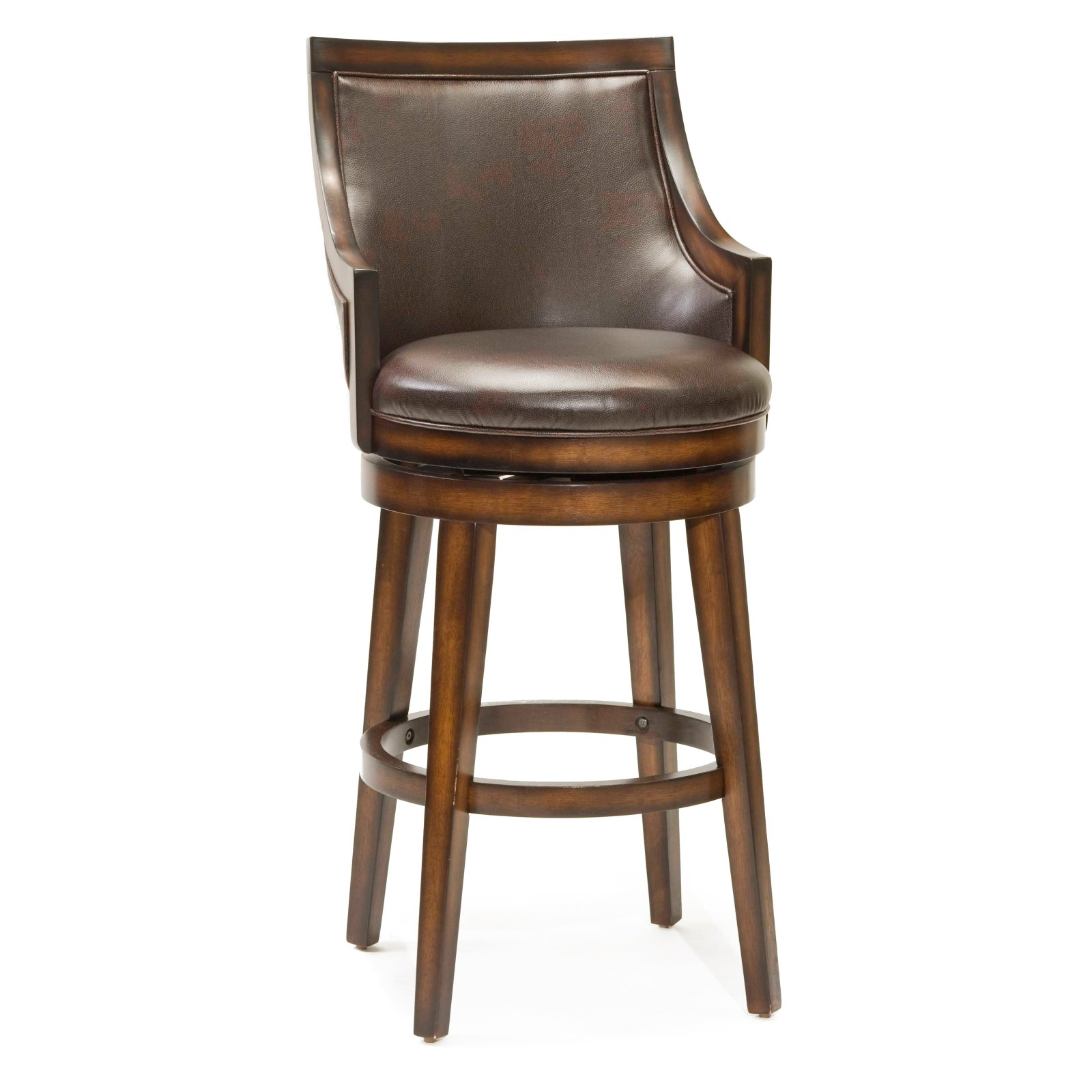 Hillsdale Lyman 30.5 in. Swivel Bar Stool