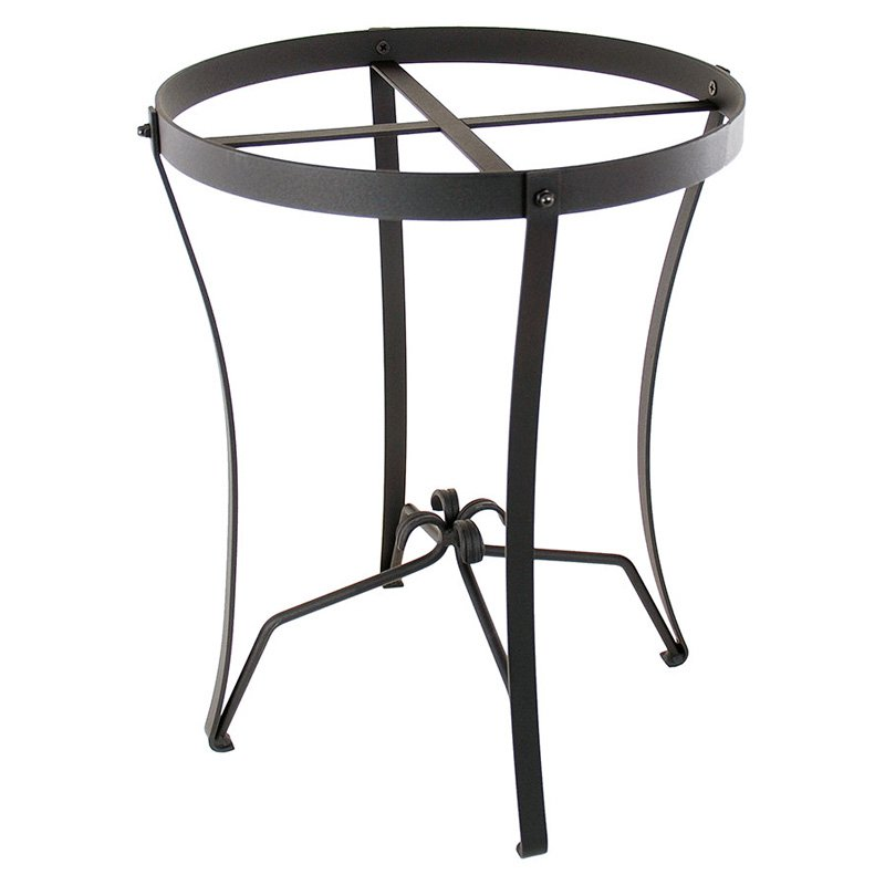 Achla Designs Round Wrought Iron Plant Stand