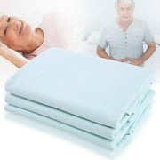 Dilwe Waterproof Reusable Incontinence Bed Pads Washable Underpads for Kids Adult (31.50 x35.43 )