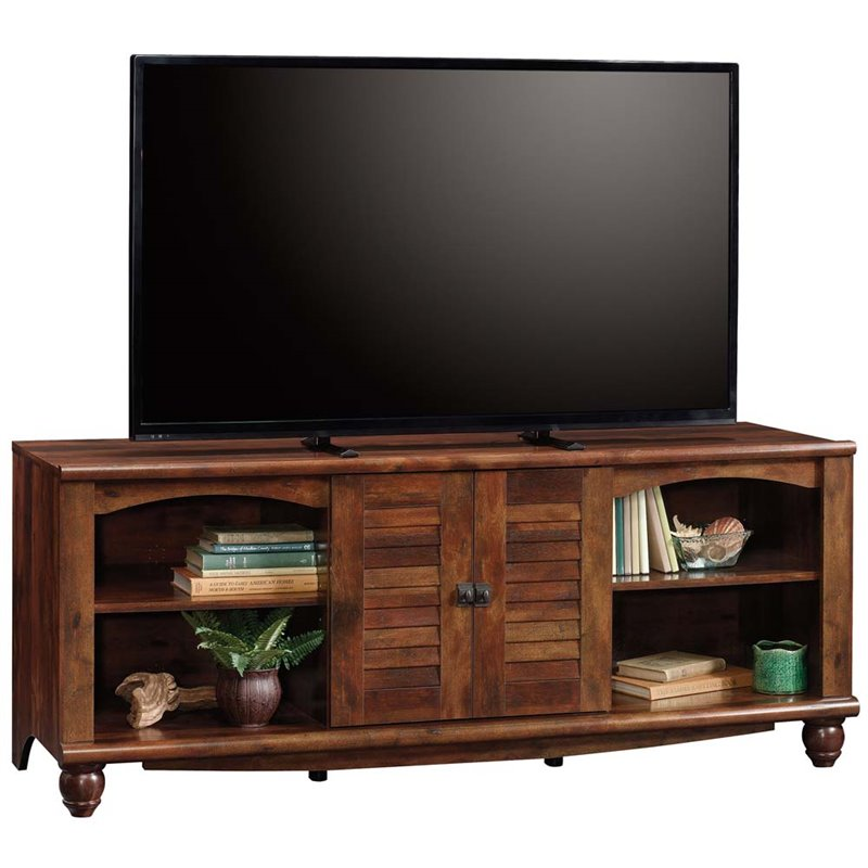 "Harbor View Entertainment Credenza for TVs up to 60"", Curado Cherry Finish"