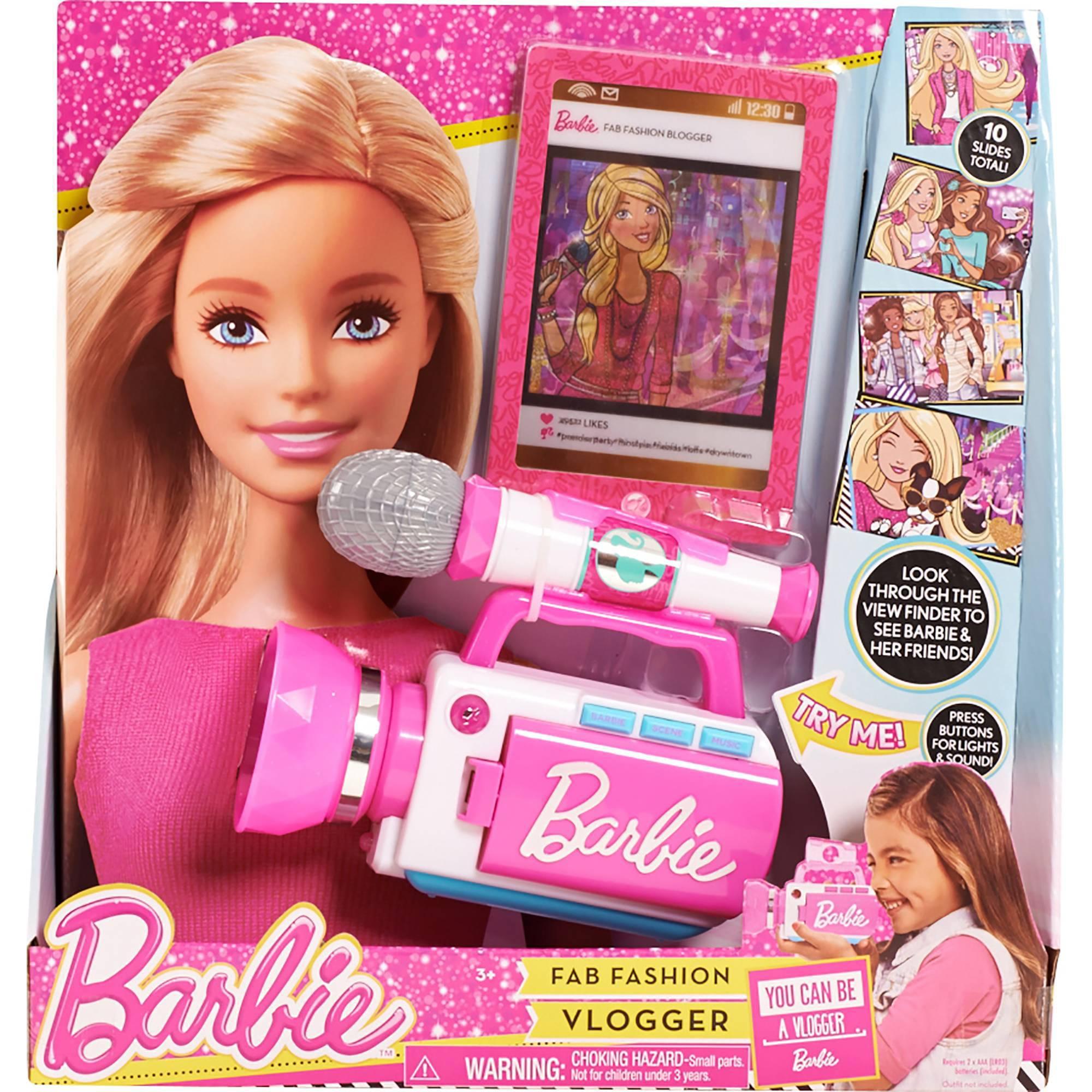 Barbie Fashion Vlogger Walmart Com