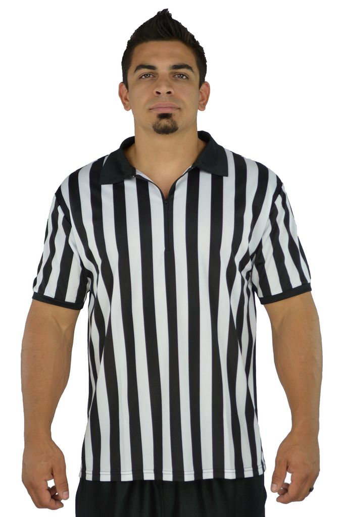 Mens Referee Shirts/Umpire Jersey with Collar for Officiating + Costumes + More!  sc 1 st  Walmart & Mens Referee Shirts/Umpire Jersey with Collar for Officiating + ...