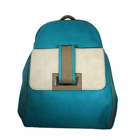 Aryana Junior Womens Jade Front Pocket Top Zipper Bita Backpack