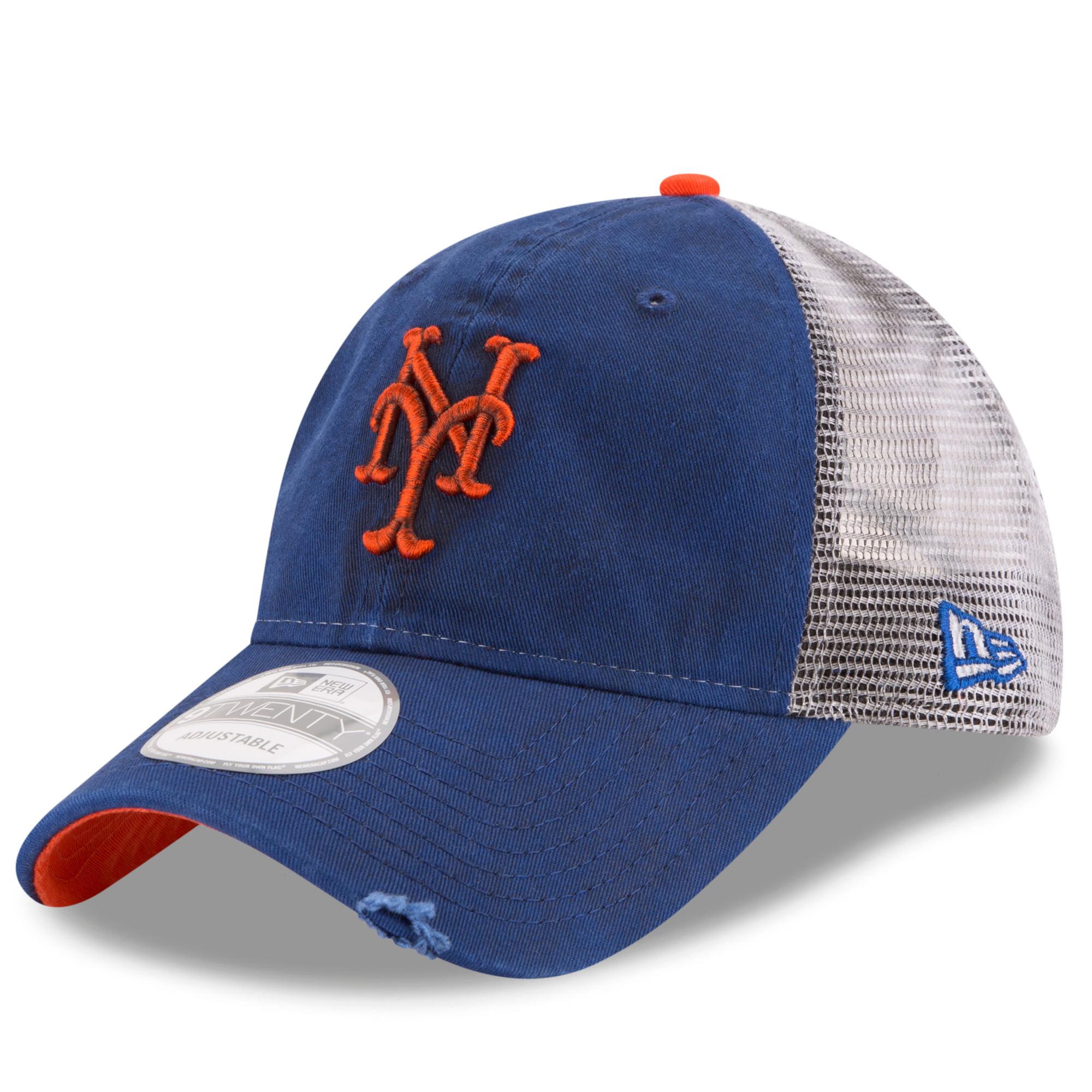 New York Mets New Era Team Rustic 9TWENTY Adjustable Hat - Royal - OSFA