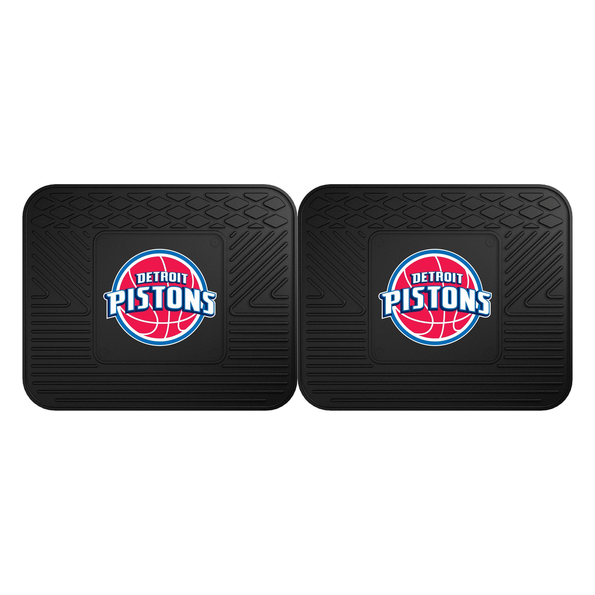 Detroit Pistons 2-Pack Utility Mat Set - No Size