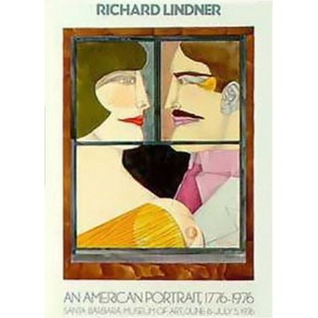 American Portrait  Le  Poster Print By Richard Lindner  21 X 31