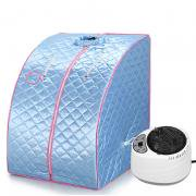 Jeobest Portable Home Steam Sauna - Portable Indoor Steam Sauna Spa Full Body Slimming Loss Weight Detox Indoor Therapy