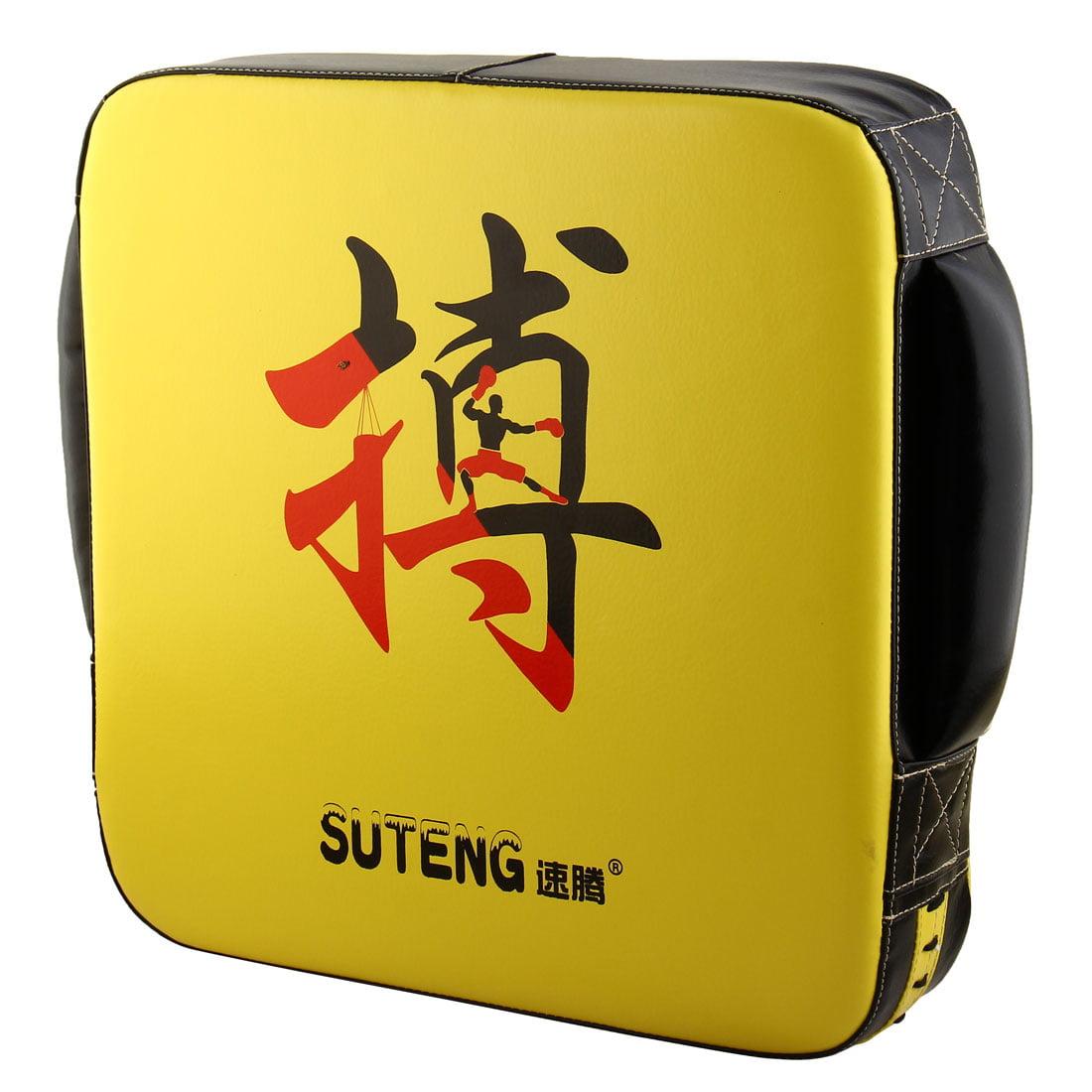 SUTENG Authorized Boxing Strike Target Karate Kicking Training Pad Shield Yellow