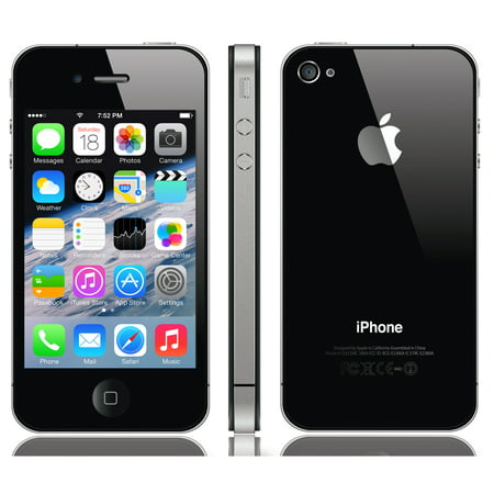 iPhone 4s 16GB Black (Unlocked) Refurbished