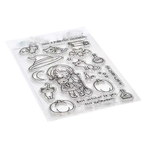 Little girl and little bird Clear rubber stampskids clear stamps and dies for scrapbookingcard makingchildren stamps