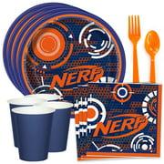 Nerf Party Supplies - Birthday Kit - Serves 8