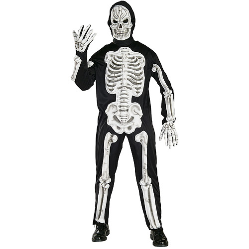 EVA Skeleton Adult Halloween Costume
