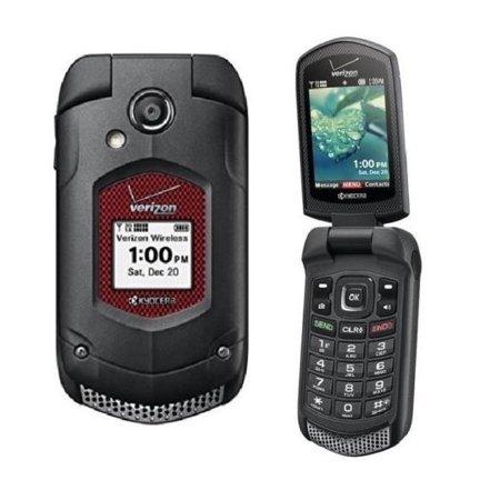 best loved 4412f 8ca15 Kyocera DuraXV Dura XV E4520 Flip Refurbished Black (Verizon) Rugged Cell  Phone (Page Plus)