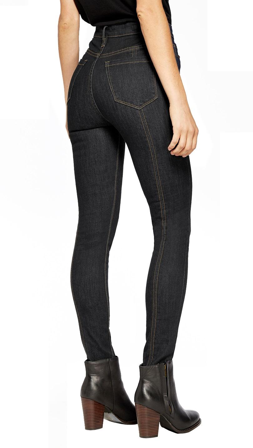 HyBrid & Company Womens High Waist Skinny Designer Jeans Pants