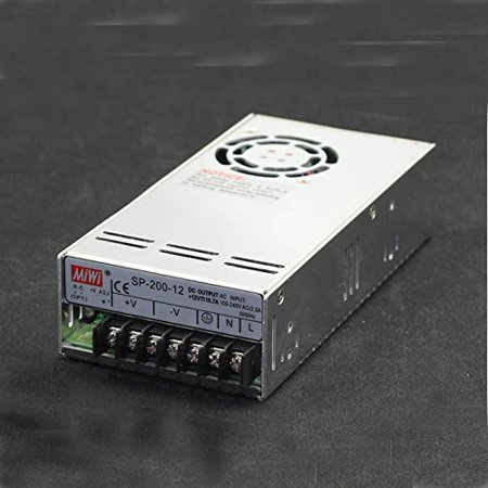 264v Switch - MeanWell MW SP-200-12 MW Power Supply 12V 16.7A 200.4W 199x99x50mm AC85~264V