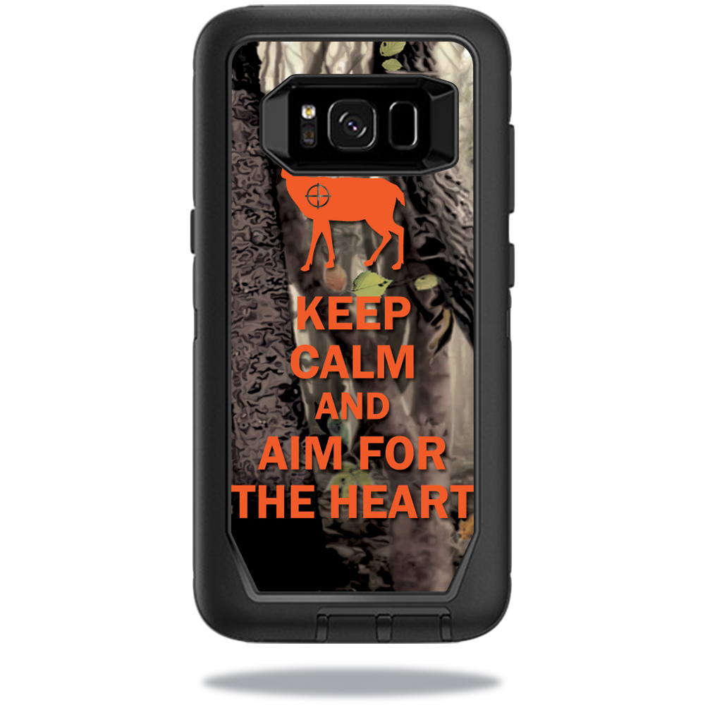 MightySkins Protective Vinyl Skin Decal for OtterBox Defender Samsung Galaxy S8 Case sticker wrap cover sticker skins Deer Hunter