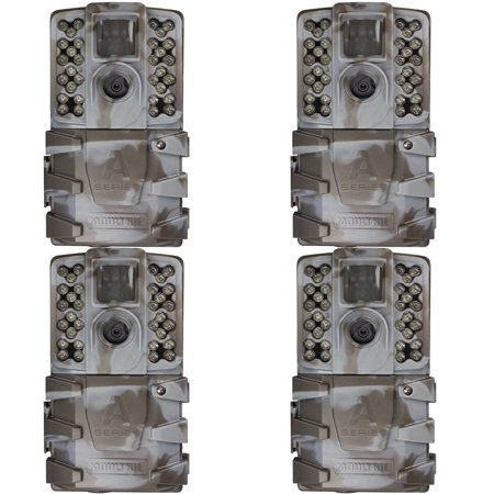 Moultrie A-35 14MP 60' HD Video Low Glow Infrared Game Trail Camera (4