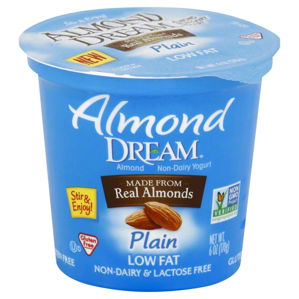 Almond Dream Non Dairy Plain Yogurt - Walmart.com Almond Dream